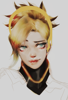 Mercy by milkuriiem