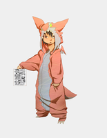 in a kigurumi of RUdragon by phation