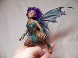 """IONE"" ooak fairy by AmandaKathryn"