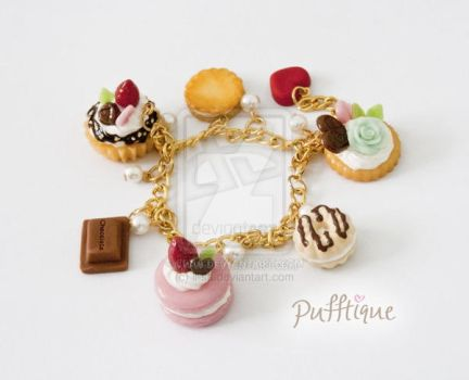 Fake Sweets Bracelet by li-sa