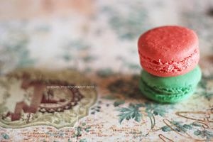 Macarons by Ghzaiel