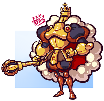 King Knight by Cubesona