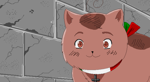 Central Italy Cat by P-ChanAndP-Kun