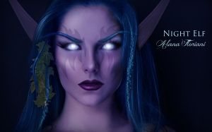 Night Elf - World of Warcraft by LanaArts