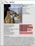 The Wild Notepage by Duckyworth