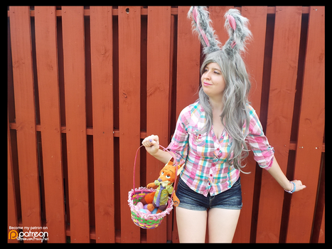 (Zootopia) Easter Bunny Judy Hopps! (Cosplay) #5 by KrazyKari