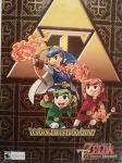 Triforce Heroes Poster by HawtLinkGasm64