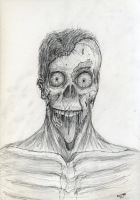 Jawless Zombie by Jeffers800