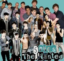 Pack de png the wanted by InvisivleLove