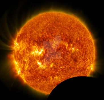Partial Solar Eclipse by astrobiology12