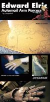 Edward Elric Automail Arm Process by napallama