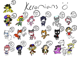 Sweet Jebus, thats a lot of Adopts! by HaruKitsu