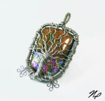 Wire Wrap Tree of Life Pendant by Create-A-Pendant