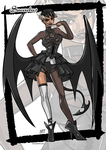 Monster girl: Succubus by KukuruyoArt