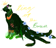 I'm the king of the forest by Pyrosong