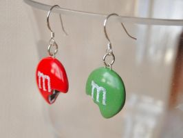 MMs Earrings by Madizzo