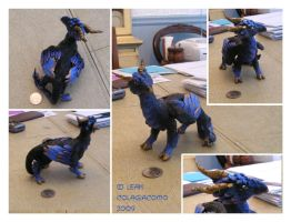 Hoofed Dragon -finished- by Flowerlark