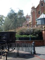 Haunted Mansion Side View 2 by WDWParksGal-Stock
