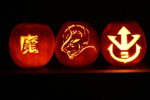 This years pumpkins XD by Delilah2012