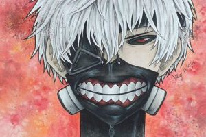Tokyo Ghoul 2nd Attempt by YellowLemonChan