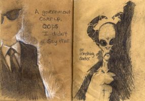 Sketchbook page 28 and 29 by jwize