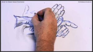 Learn how to draw hand positions 015 by drawingcourse
