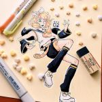 Rin Kagamine Yellow Paper by pomifumi