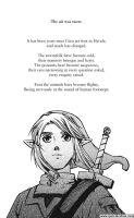 Legend of Zelda: The Edge and The Light - Chap1pg1 by QueenieChan