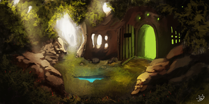Inside Forest Artjam by soyfreak