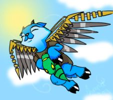 Now we can fly too by limpet666