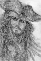 Captain Jack Sparrow by LittleDragonZ