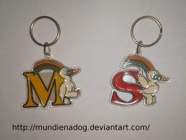 Curro's Keychain by MundienaDog