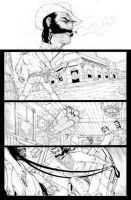 Outlaw Territory pg1 pencils by ZurdoM