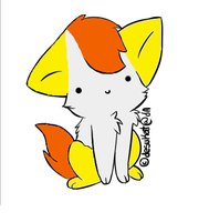 Candy Corn Adoptable by NicD13Adopteez