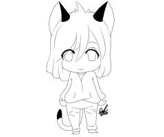 Chibi Kitty~ by OriChes