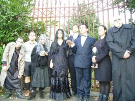 Fester Addams with Family by xxTonyStarkxx
