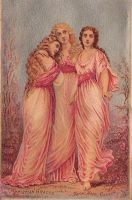 Vintage Three Graces by HauntingVisionsStock