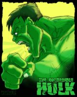 The Hulk Collab by PsychoSlaughterman
