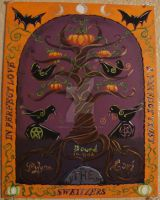 Handfasting painting by Midnight-Crafts