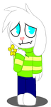 [Undertale]Asriel (HTF version) by JeyTheWerefox