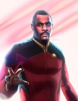 Star Trek Beyond concept - Idris Elba as Picard by MatthewSwift