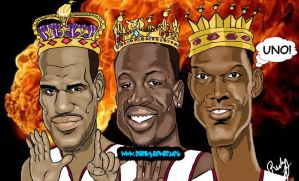 miami heat three kings, correc by guyman80