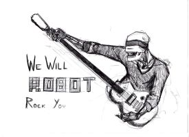 we will ROBOT ROCK you by PerpetualInsomnia