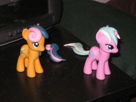 Lyra and Bon-Bon customs WIP by AleximusPrime