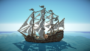 Royal Armistice - Minecraft Ship by Sillouete