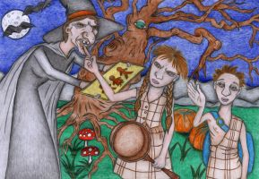 Hansel and Gretel by Sofen