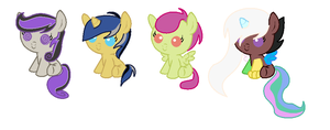 Ship Adopts by TargetGirl
