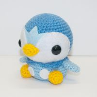 Piplup by Heartstringcrochet