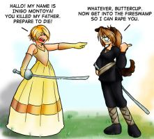 Princess Bride Fun by Umitsu