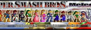 Super Smash Bros Melee Sprites by Xander-son-of-Xereus